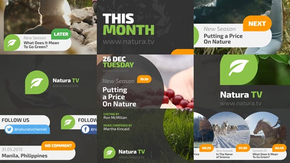 Thumbnail for Natura TV - Broadcast Ident