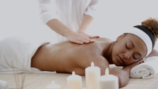 Thumbnail for Woman Relaxing With Hand Massage