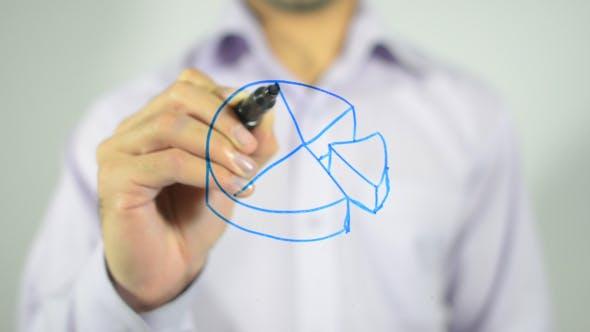 Thumbnail for Business Pie, 3D Illustration Concept