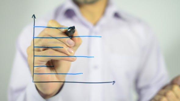 Thumbnail for Business Line Chart Illustration