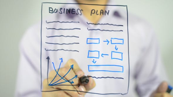 Thumbnail for Business Plan, Concept Illustration