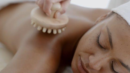 Thumbnail for Woman Enjoying A Back Massage