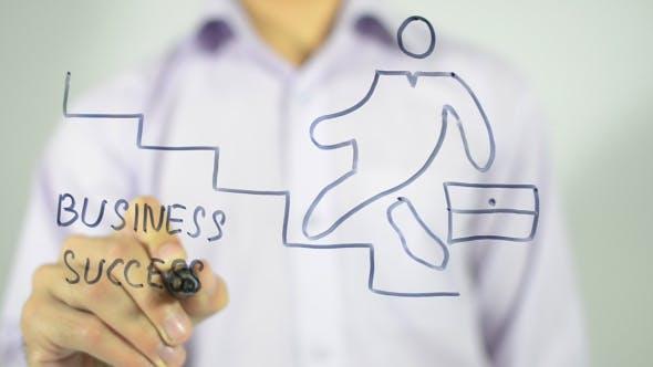 Thumbnail for Business Success, Concept Illustration
