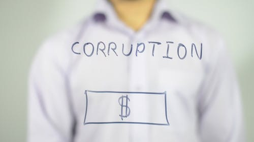 Corruption, Illustration