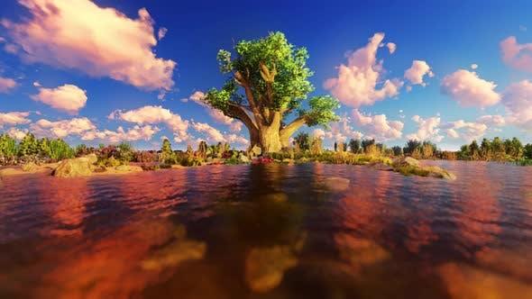 Thumbnail for 4K Öl Bilder Landschaft