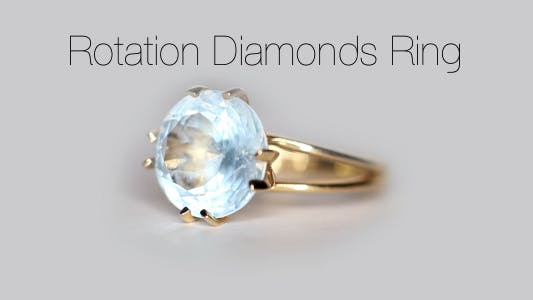 Cover Image for Rotation Diamonds Ring 6