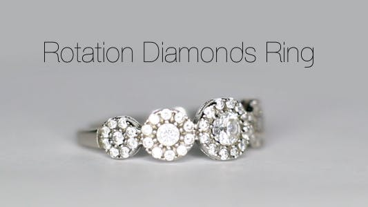 Cover Image for Rotation Diamonds Ring 7