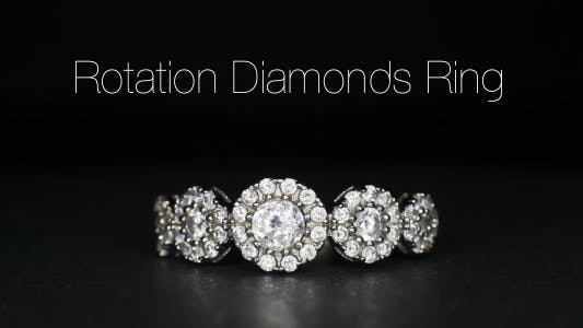 Thumbnail for Rotation Diamonds Ring 8