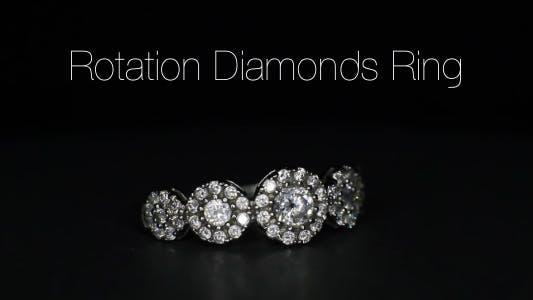 Thumbnail for Rotation Diamonds Ring 11