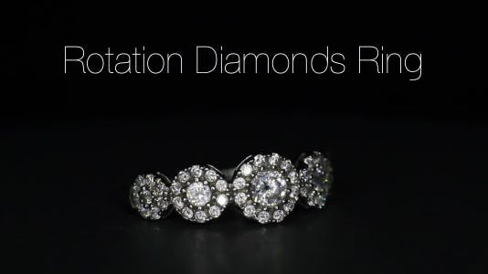 Rotation Diamonds Ring 11