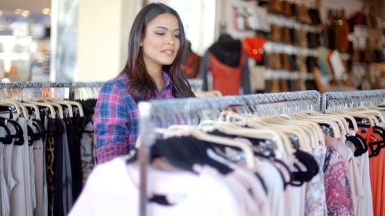 Thumbnail for Woman Shopping For Clothes