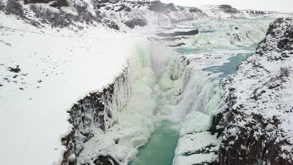 Thumbnail for The Gullfoss Gorge in Iceland