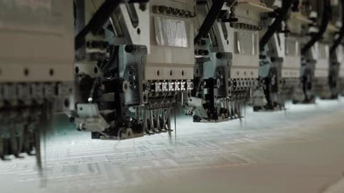 Garment Factory Industrial Embroidery Machine