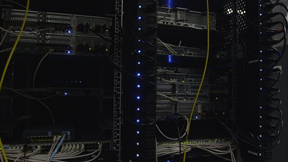 Thumbnail for Power Cables And Ceiling Of Datacenter