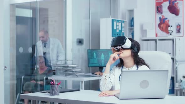 Research in Medicine with Virtual Reality