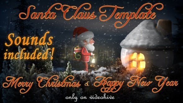 Cover Image for Santa Claus - Merry Christmas and Happy New Year