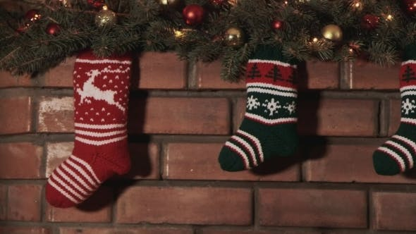 Cover Image for Multi-Colored Socks For Christmas Gifts