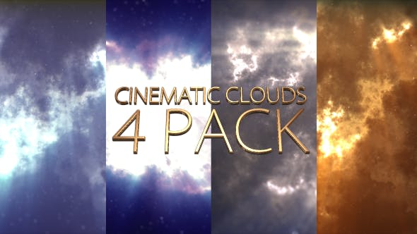 Thumbnail for Cinematic Clouds 4 Pack