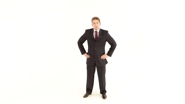 Thumbnail for Businessman in the Suit Stands