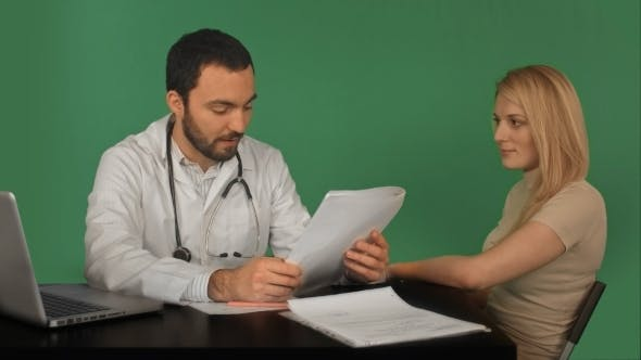 Thumbnail for Doctor And Patient Discussing