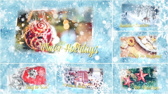 Thumbnail for Winter Holidays Slideshow
