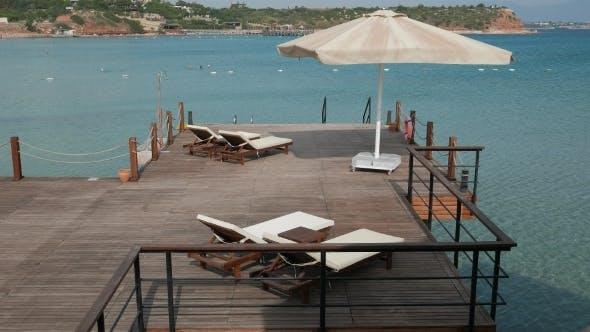 Thumbnail for Wooden Bathing Platform Ready For Swimming Season