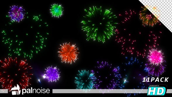 Thumbnail for Fireworks Motion (11-Pack)