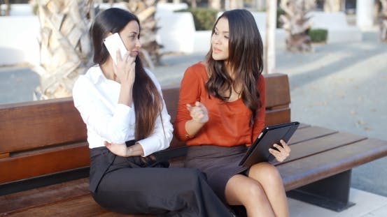 Thumbnail for Young Woman Chatting On a Mobile