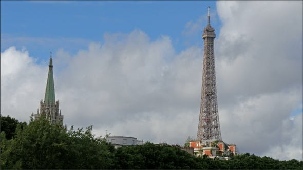 Thumbnail for The Upper View of the Eiffel Tower