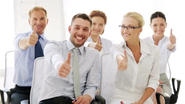Thumbnail for Business People Showing Thumbs Up 1