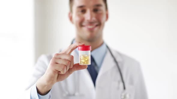 Thumbnail for Professional Doctor Showing Medication Pills 2