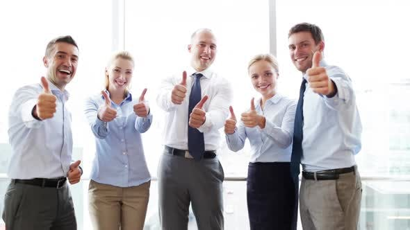 Thumbnail for Smiling Business People Meeting In Office 17