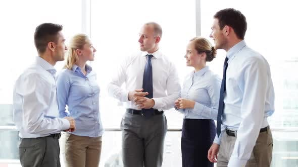 Thumbnail for Smiling Business People Meeting In Office 18