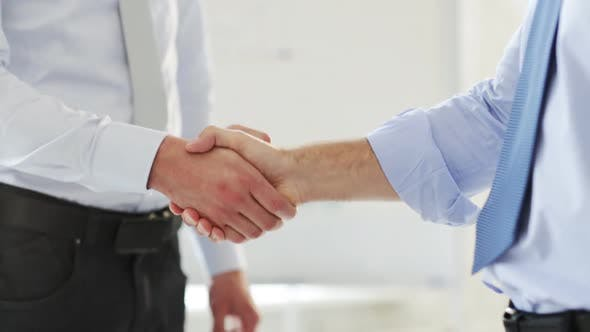 Thumbnail for Two Businessmen Shaking Their Hands 2