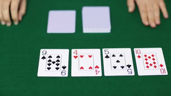 Thumbnail for Holdem Poker Dealer With Playing Cards 17