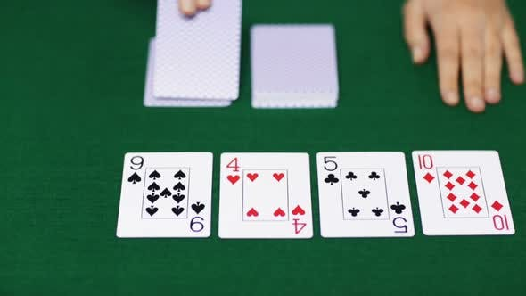 Thumbnail for Holdem Poker Dealer With Playing Cards 6