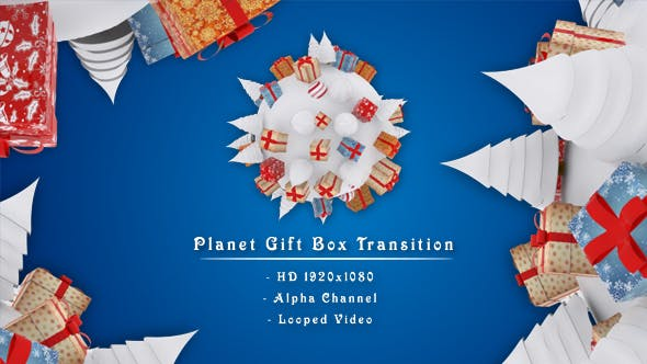Thumbnail for Planet Gift Box Transition