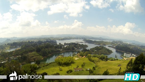 Thumbnail for Colombia Guatape, Landscape Lakes
