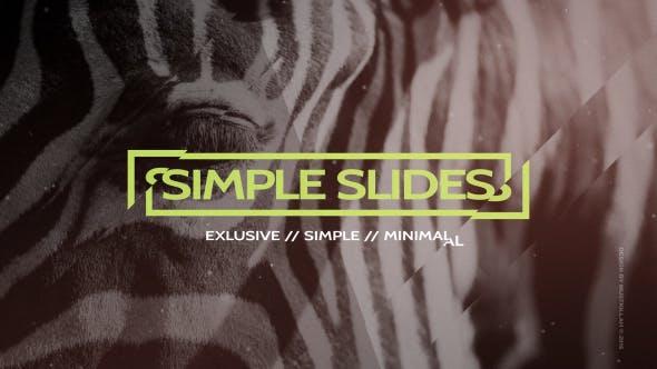Thumbnail for Projet de diapositives simples