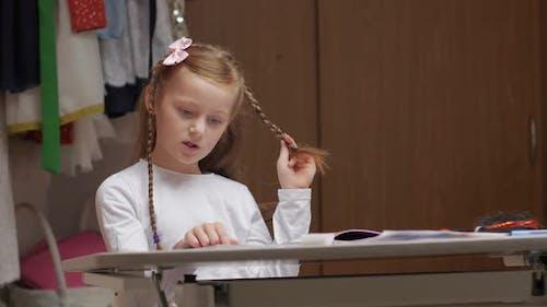 Schoolgirl Distance Education