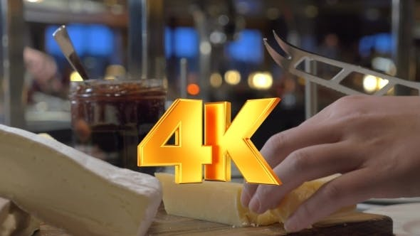 Thumbnail for Cutting Cheese In The Buffet