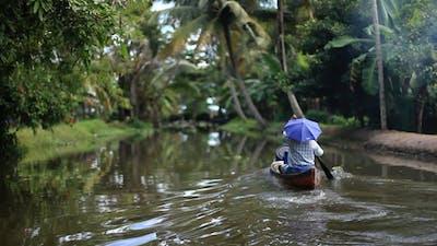 Canoe In The Jungle