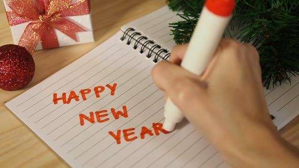 Thumbnail for Writing Happy New Year