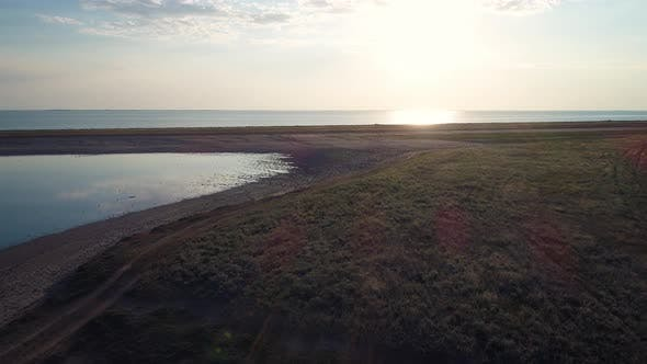 Thumbnail for Fly Over Arabat Steppe