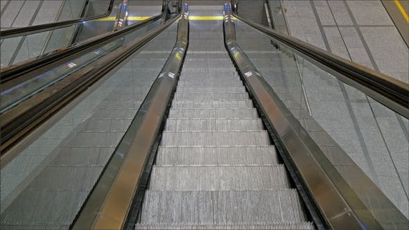 Thumbnail for The Look of the Escalator While Going Down
