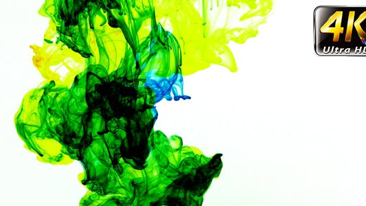 Thumbnail for Abstract Ink Paint Art Blend Colorful Splash 5