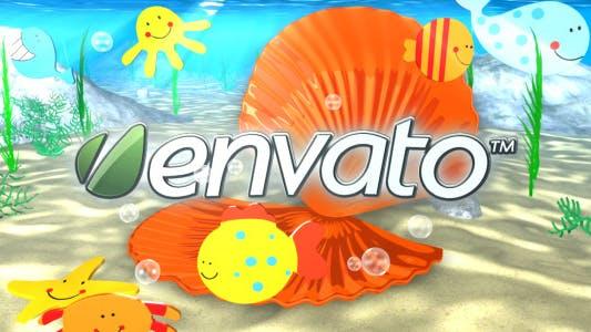 Thumbnail for Underwater Logo Reveal