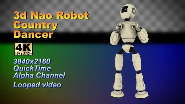Thumbnail for 3D Neo Roboter Chromakey