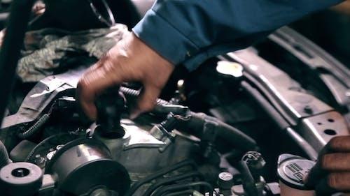Zeit, das Motoröl zu wechseln
