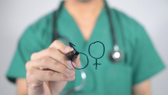 Male Female Signs, Illustration